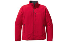 Chaqueta Soft Shell Patagonia Simple Guide  rojo para hombre